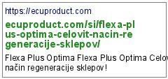 https://ecuproduct.com/si/flexa-plus-optima-celovit-nacin-regeneracije-sklepov/